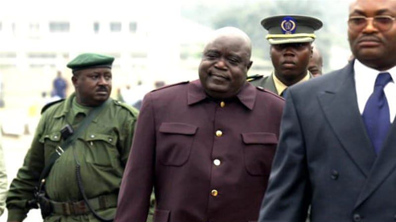 Then DR Congo president Laurent Kabila seen on June 30, 2000 in Kinshasa [Hoslet Olivier/AFP/Getty Images]