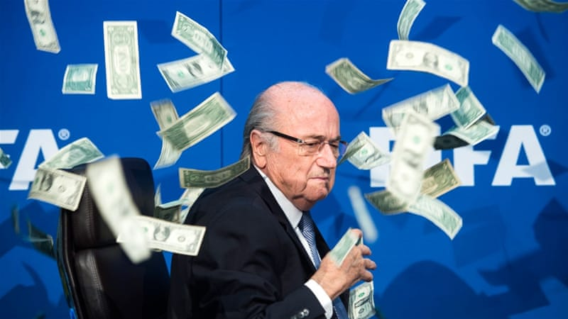 Former FIFA chief Blatter has been suspended for eight years [EPA]