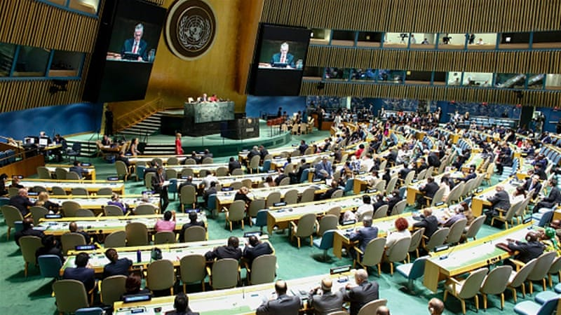 United Nations General Assembly [AFP]
