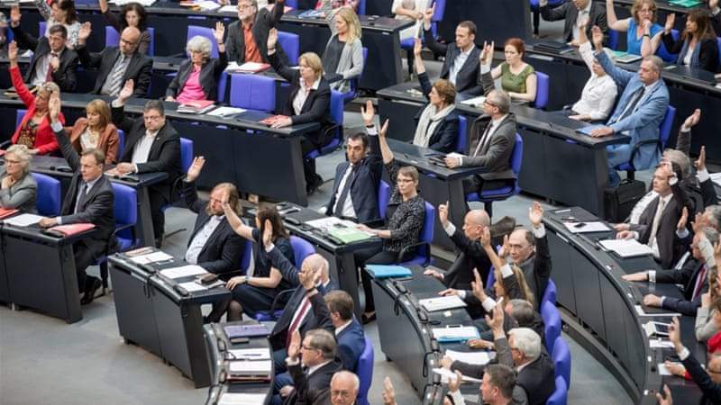 On June 2, the German parliament not only violated the law but also made a short-sighted and misguided choice, writes Kalin [EPA]