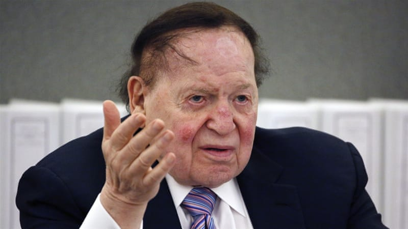 Who is Sheldon Adelson and can he sway the US election? | Israel ...