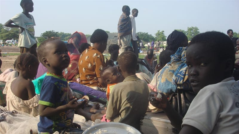 36000 displaced in South Sudan