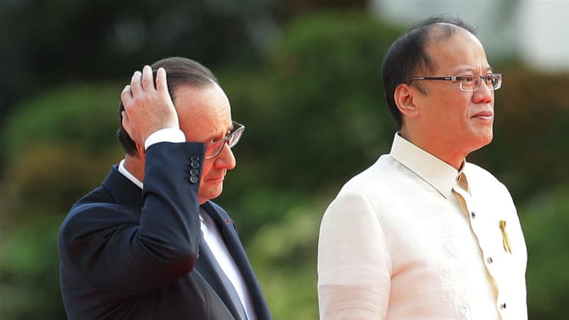 Critics expressed surprise that Hollande, whose hair is thinning could spend so much on preening [AP]