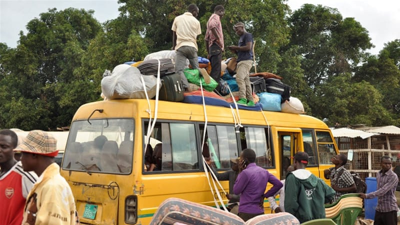 At least 42,000 have fled the city of Juba in recent days following the fighting in South Sudan [Reuters]