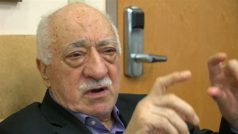 Gulen denies having anything to do with the failed military coup bid, which he condemned [Reuters]