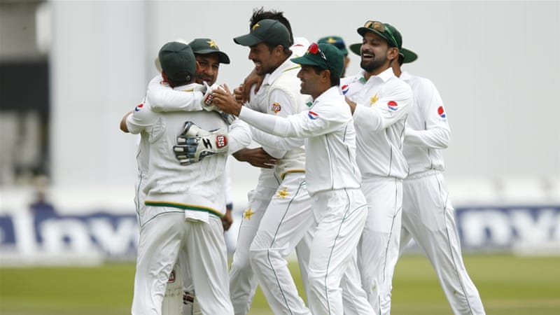 Pakistan won by 75 runs on the fourth day of their series opener [Reuters]