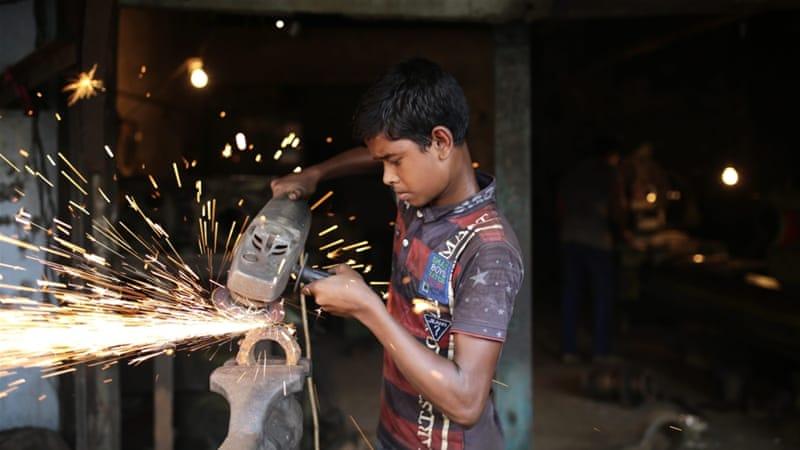 Child lobour in dhaka city