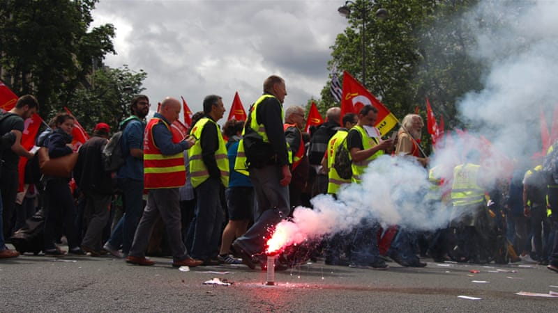 Just how powerful are France's labour unions?