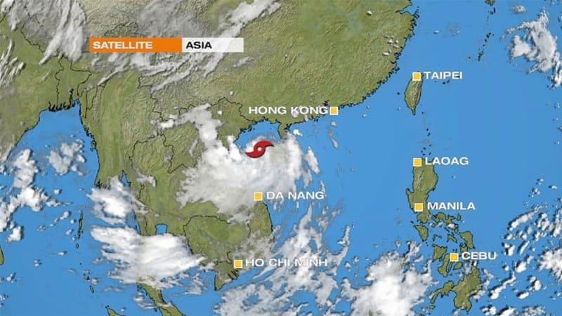 Tropical Storm Mirinae Barrels Across Southwest China China News
