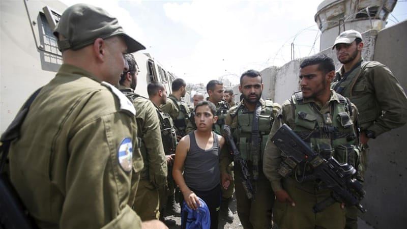Children detained in war zones