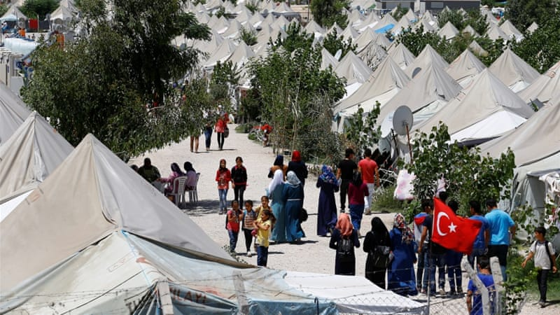 About 2.7 million Syrians who fled the civil war in their country reside in Turkey [Reuters]