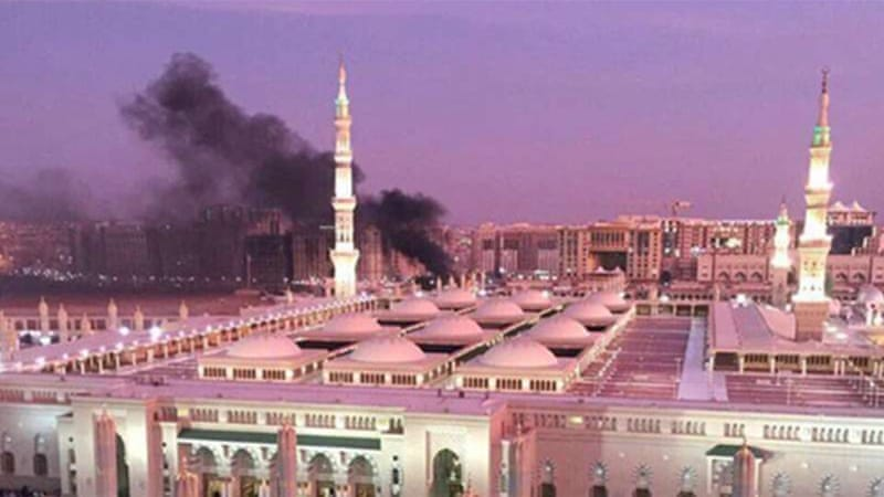 A suicide bomber attacked the holy city of Medina just days before Eid al-Fitr [Saudi Press Agency/EPA]