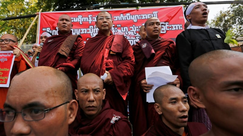 Ultra-nationalist Buddhist groups refer to Rohingya as 'Bengalis' and have called for their deportation [Reuters]