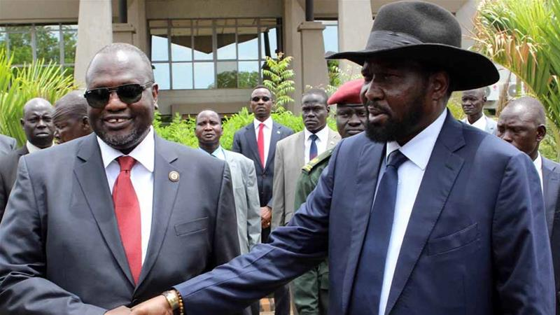 Salva Kiir and Riek Machar: South Sudan's shaky peace
