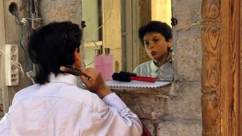Qusai Abtini, Syrian child actor who played a role in rebel-produced sit-com, was killed as he tried to flee Aleppo [File photo: AP]