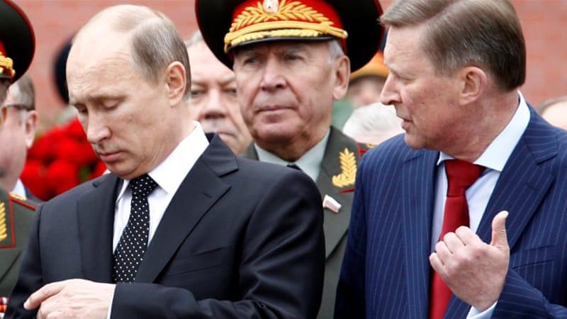 Putin dismisses Ivanov