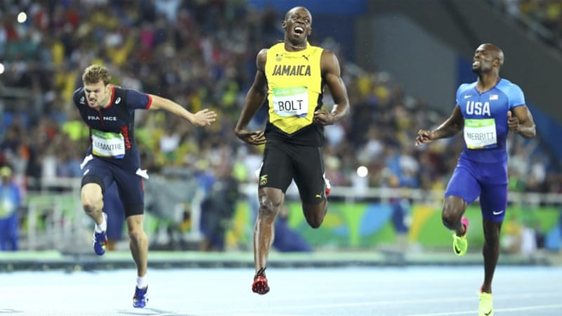 Bolt has now won a staggering 19 Olympic and world titles [Reuters]