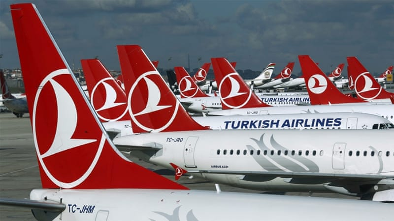 THY, which is 49-percent state-owned, is Europe's fourth biggest carrier [Reuters]