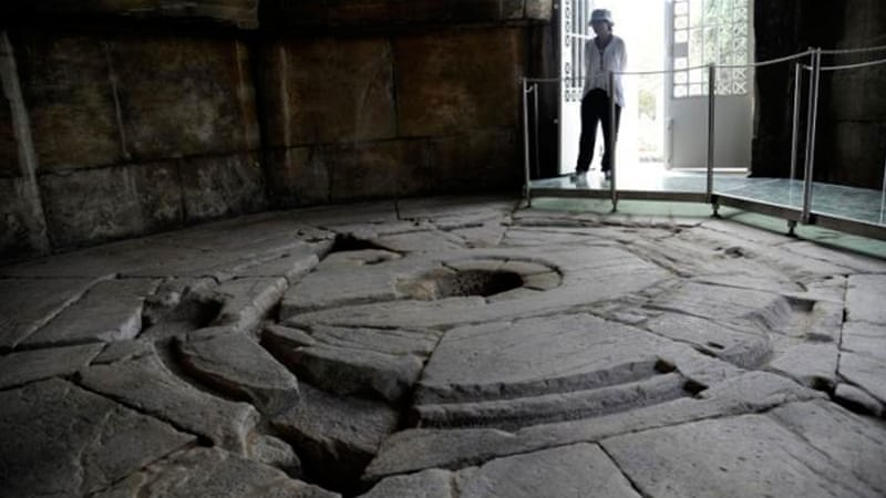 The station is believed to be 2,000 years old [Reuters]