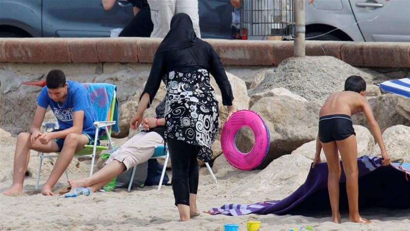 A court in France has suspended the burkini ban
