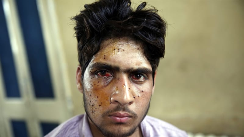 Amnesty Stop Using Pellet Guns On Kashmiri Protesters