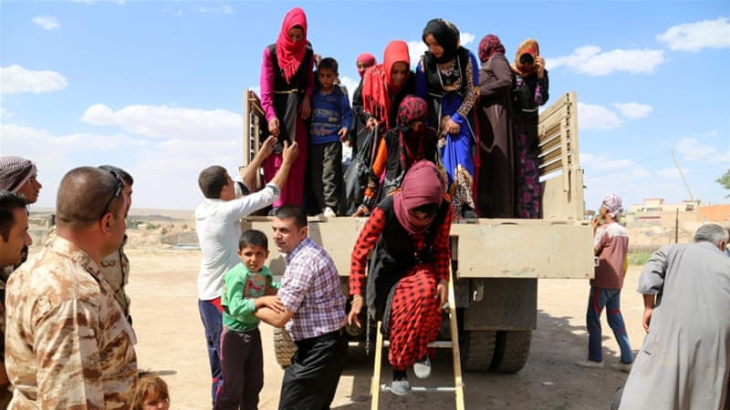 Kirkuk's governorate hosts nearly 600,000 IDPs, according to a KRG official [EPA]