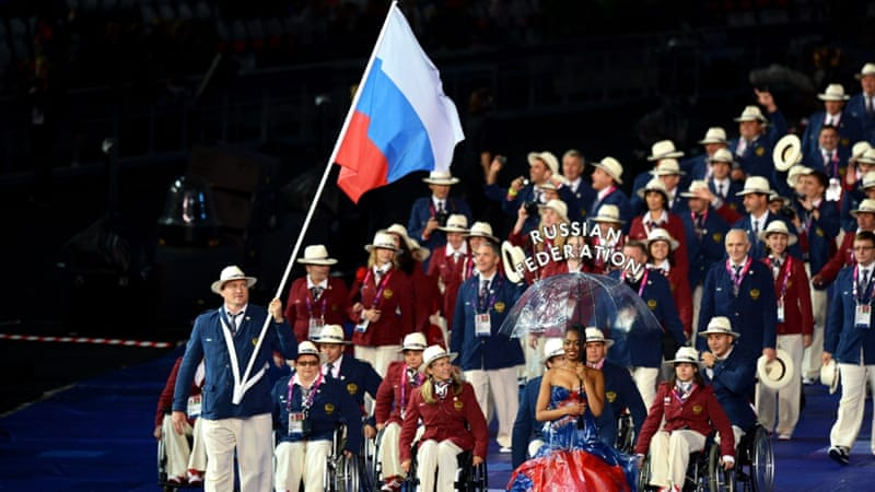 Russia finished second in the medal standings at the 2012 London Paralympics [Getty]