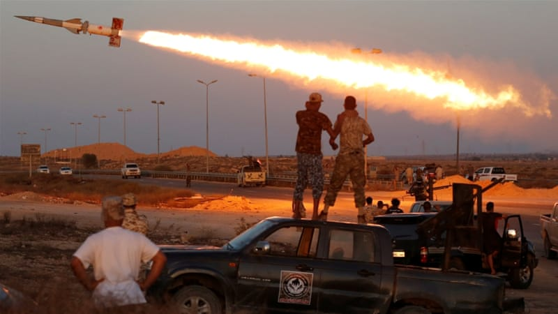 Libyan fighters says they have advanced against ISIL in the flash point city of Sirte [Goran Tomasevic/Reuters]