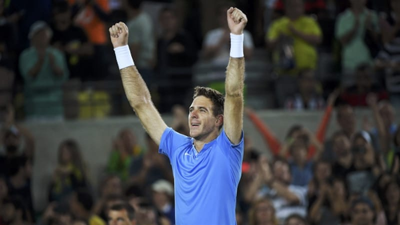 Del Potro's win over Djokovic was 'one of the best matches' of his career [Reuters]