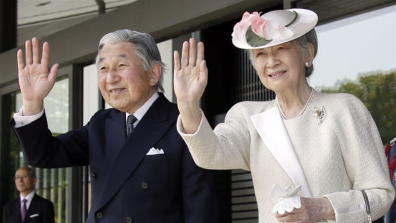 File: Akihito is known to be a peacemaker and has tried to reconnect the monarchy with the Japanese people [EPA]