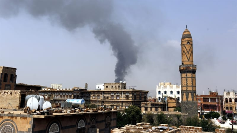 Yemen air strikes kill civilians