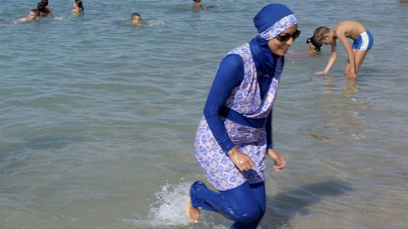 Cannes burkini ban overturned after top French court ruling