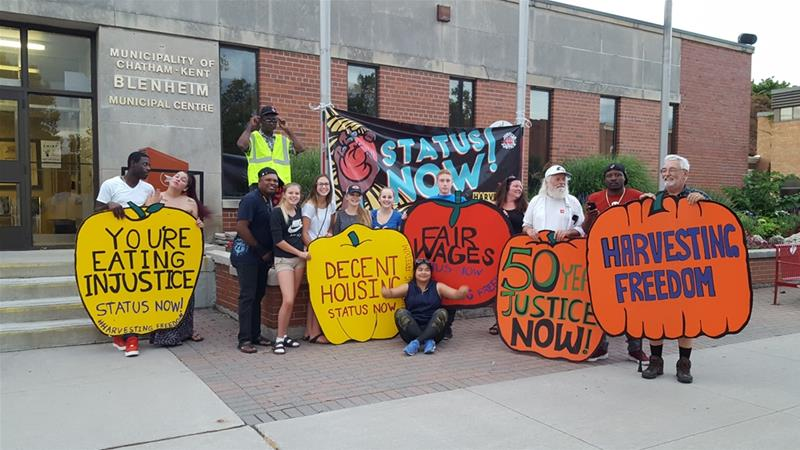 The caravan tour will end in Ottawa on October 1 [Courtesy: Justicia for Migrant Workers]