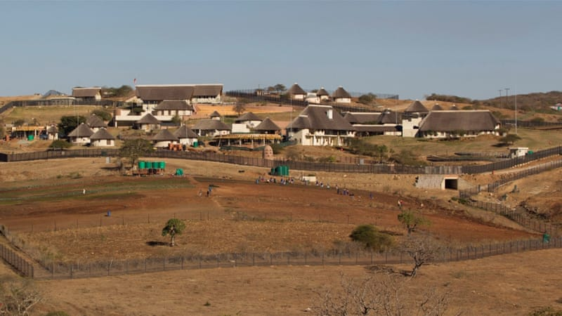 The scandal over the Nkandla home upgrades has dogged Zuma's presidency [Rogan Ward/Reuters]