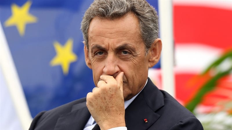 Not surprisingly, Sarkozy succeeded in setting the tone for the election without resistance from any of his presidential rivals, writes Louati [EPA]