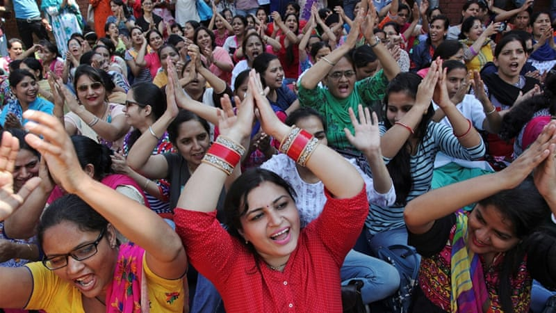 Millions of Indian workers strike for better wages | India News | Al