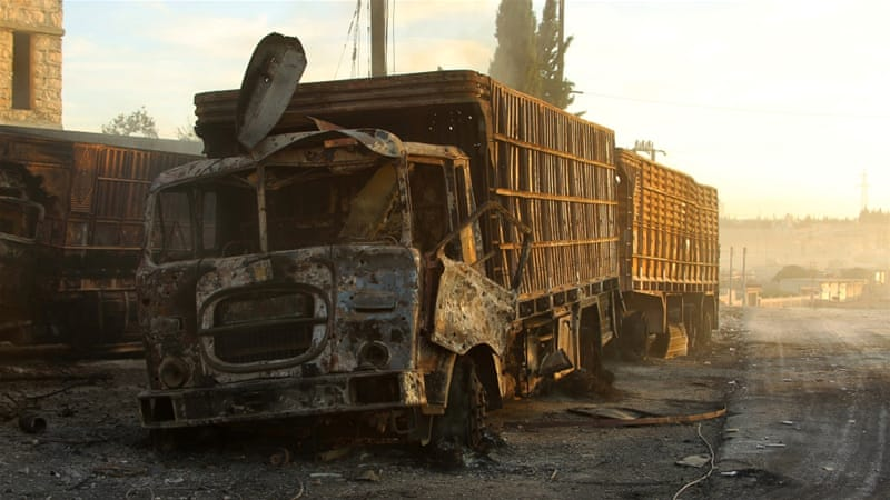 United Nations resumes Syria aid delivery after attack