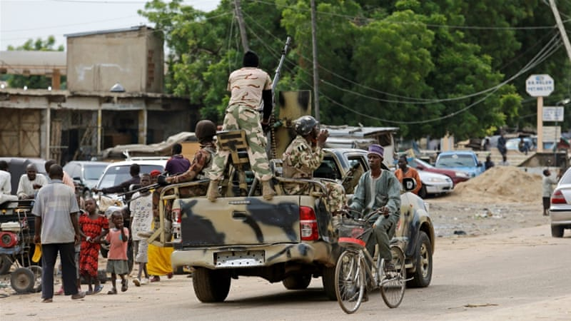 Nigerian troops are battling Boko Haram fighters in northeastern Borno state. [File photo: Emmanuel Braun/Reuters]