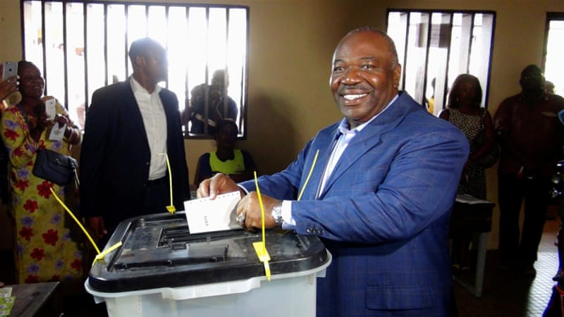 Gabon's Constitutional Court declared Bongo winner of the election [Gerauds Wilfried Obangome/Reuters]