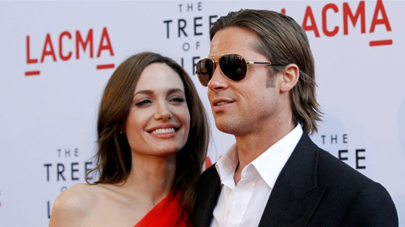 Brad Pitt and actress Angelina Jolie [Reuters]