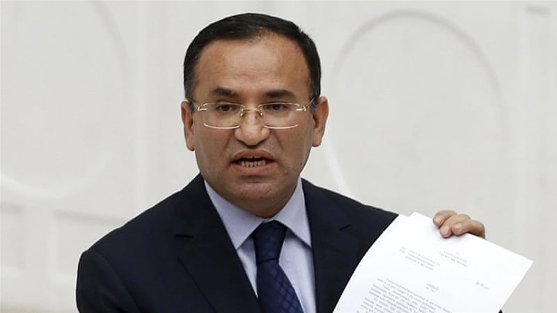 File: Bozdag said that there could be new arrests, while some of those currently arrested might be freed [Umit Bektas/Reuters]
