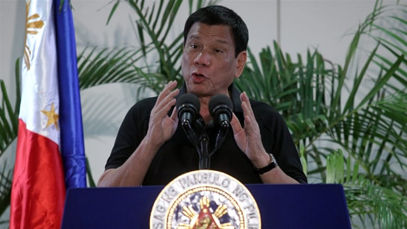 Duterte wants to kill addicts