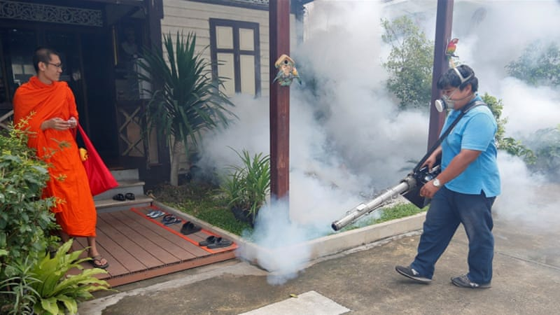 The World Health Organization has praised Thailand's response to the spread of Zika [Reuters]
