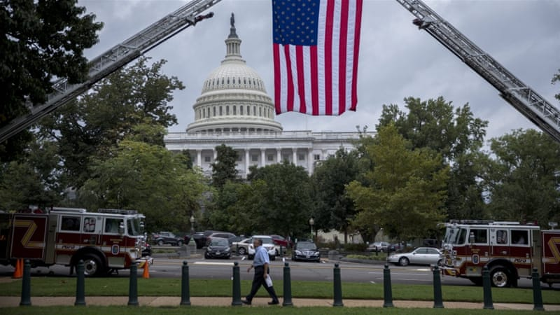 The US Congress voted to allow relatives to sue for damages related to the September 11, 2001 attacks [EPA]