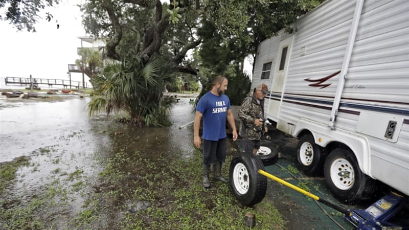 Hermine was the first hurricane to hit the state in over a decade [Chris O'Meara/AP]