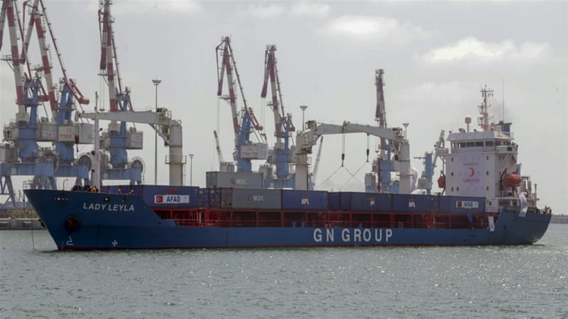 Ship leaves Turkey for Gaza