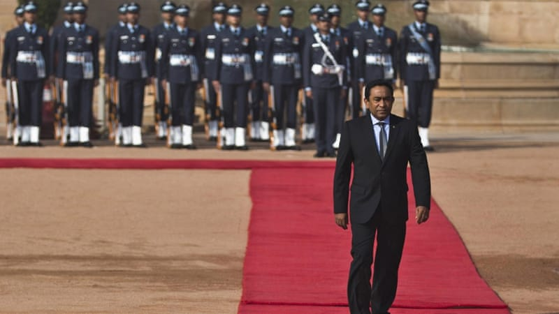 The Al Jazeera investigation exposes corruption in the Maldives government leading all the way up to President Yameen [File: Reuters]