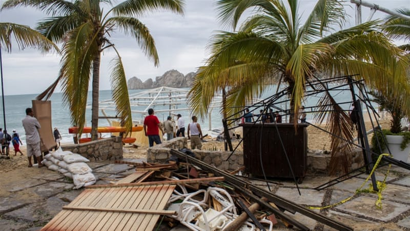 The aftermath of Hurricane Newton in Los Cabos, Mexico, September 6, 2016 [Reuters]