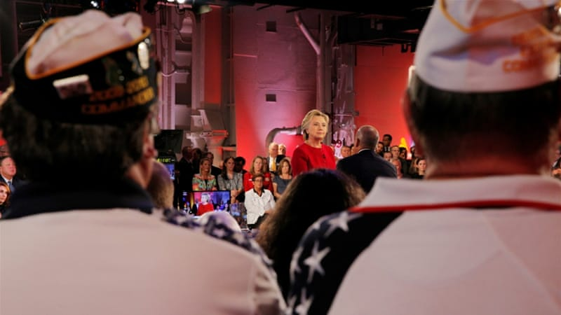 Clinton appeared less defensive dealing with foreign policy issues, writes Aftandilian [Reuters]