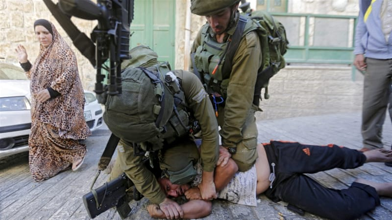 Human rights groups have described Israeli practices in the occupied West Bank as amounting to 'collective punishment' [EPA]